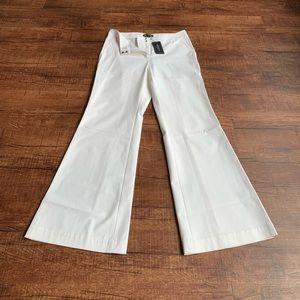 Lafayette 148 New York  plain front flare pants